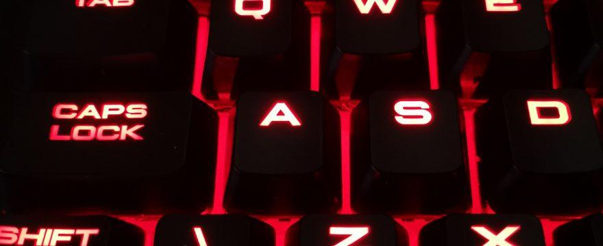 Atsauksme par Corsair Gaming G63 klaviatūru