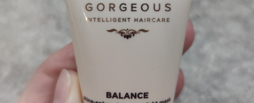 Grow gorgeous balance shine-enhancing overnight mask